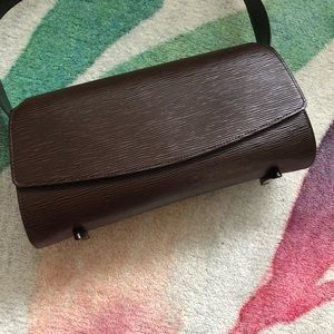 Louis Vuitton Brown Epi Leather bag